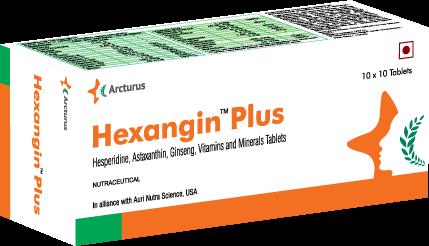 Hexagin-Plus | Arcturus Pharma